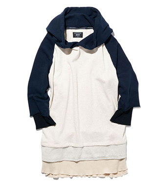 GB0119 / CS01 : Tri layered hoodie