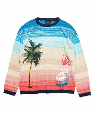 GB0119 / KNT03 : Sunset knit