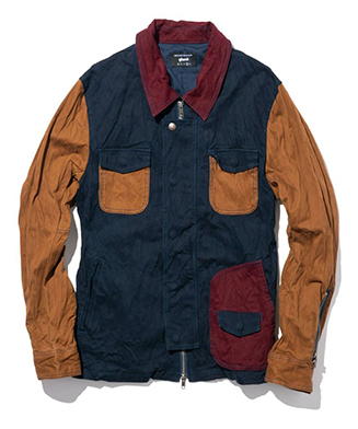 GB0119 / JKT07 : Rosso jacket