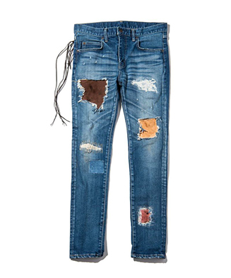 GB0119 / P01 : Nomad skinny denim