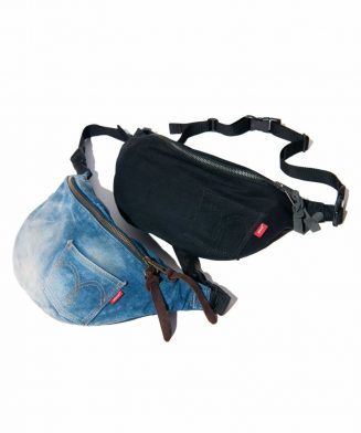 GB0119 / AC13 : Canyon denim waist pouch