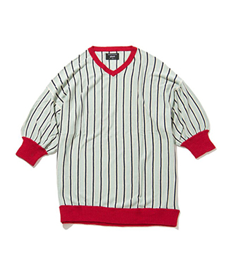 GB0219 / KNT01 : Coen big stripe knit