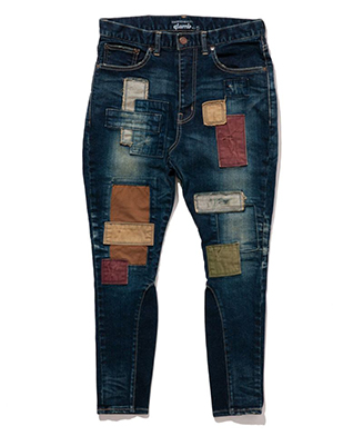 GB0219 / P03 : Unplugged rib denim