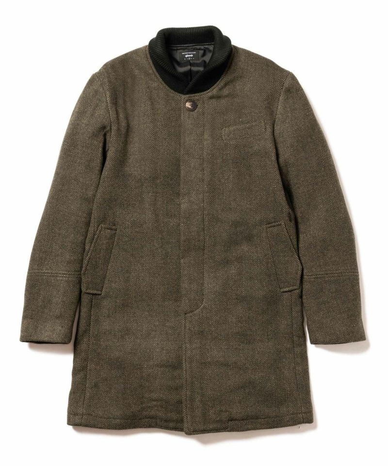 GB0319 / JKT04 : Fleur melton coat