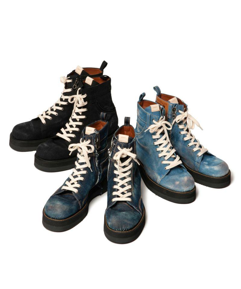 GB0419 / AC09 : Slinky denim boots