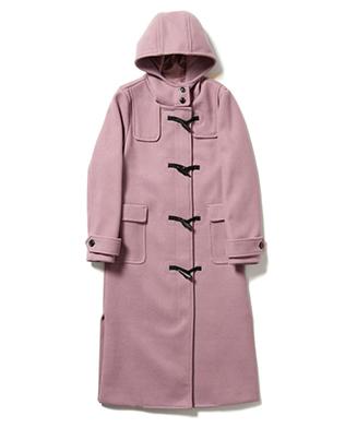 LY19WT / JKT02 : Citron duffle coat