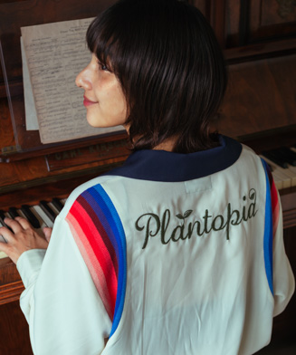 GB0120 / SH06 : Plantopia open collar SH