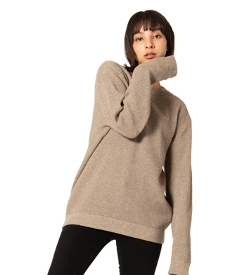 GB0120 / KNT10 : Heavy waffle knit