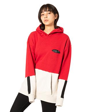 GB0120 / CS08 : Bicolor hoodie
