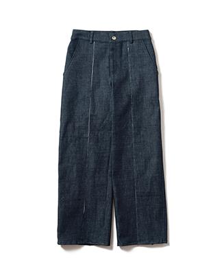 LY20SP / P04 : Minty denim pants