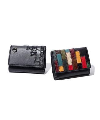 GB0220 / AC21 : Gaudy mini wallet by JAM HOME MADE
