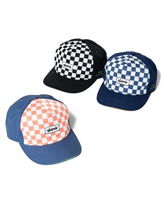GB0220 / CP02 : Checkered flag logo cap
