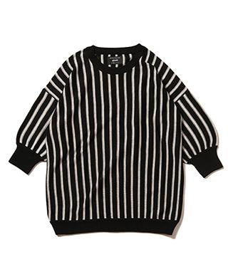 GB0220 / KNT03 : Big stripe knit