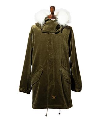 GB0320 / JKT03 : Corduroy mods coat