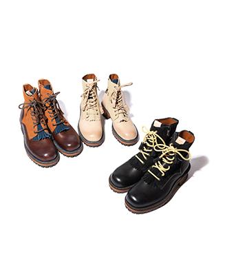 GB0320 / AC02 : Quilt tassel boots