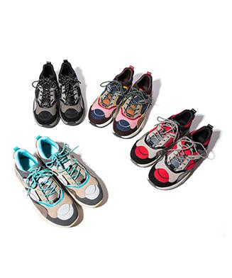 GB0320 / AC01 : Platform dad sneakers