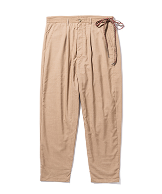 GB0320 / P12 : Drawcord tapered pants