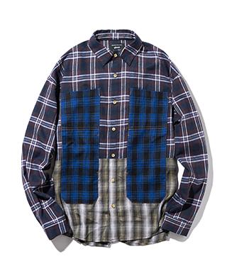 GB0320 / SH06 : Multi check shirt