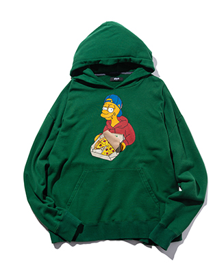 GB0420 / CS01 : Pizza today hoodie