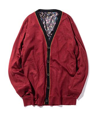 GB0420 / KNT06 : Dorber reversible cardigan