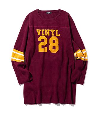 GB0420 / KNT08 : Vinyl club football knit