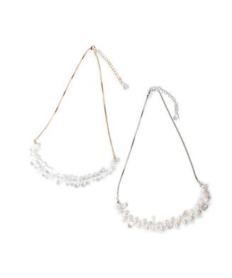 LY20WT / AC05 : Floren long necklace