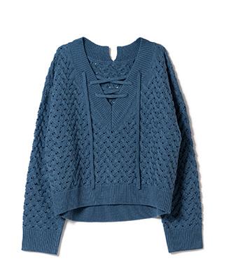LY21SP / KNT04 : Clamar knit