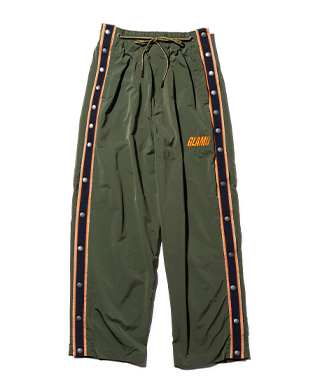 GB0121 / P02 : Side open warm up pants