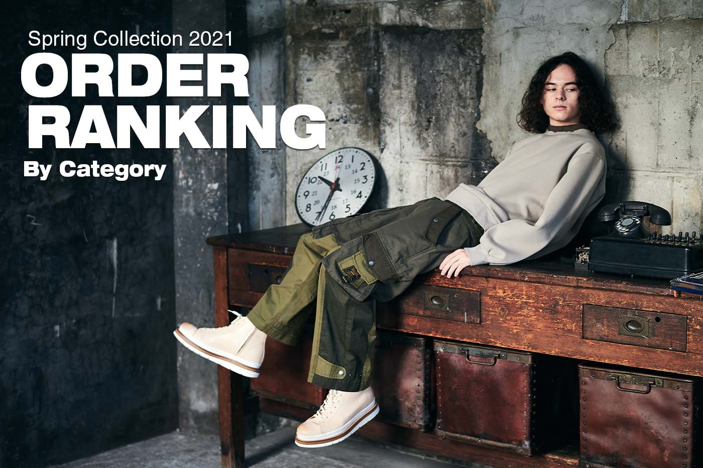 Spring Collection 2021 ORDER RANKING