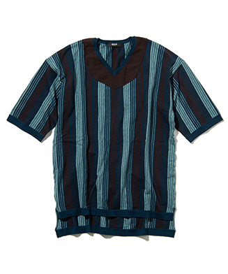 GB0221 / KNT01 : Coen stripe knit