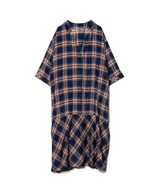LY21SM / SH04 : Moss check shirt