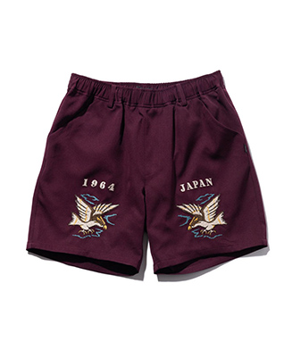 GB0221 / P07 : Needlework short pants