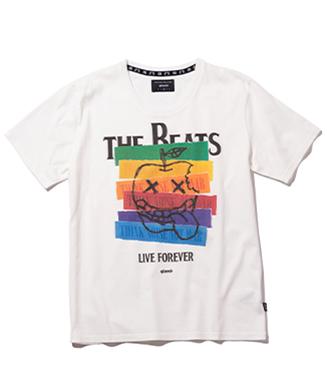 GB0321 / T01 : Apple beats T / アップルビーツTシャツ