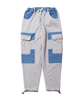 GB0321 / P13 : Multi cargo sweat pants / マルチカーゴスウェットパンツ