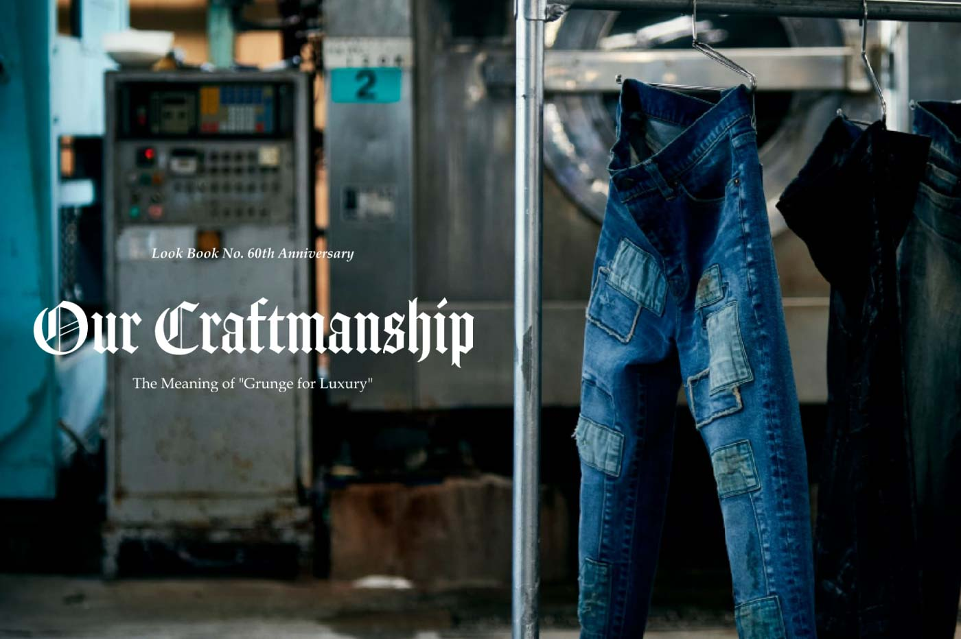 Our Craftmanship -DENIM-