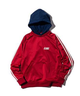 GB0421 / CS01 : Jersey Layered Hoodie